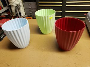 Plastic flower vases for Sale in Baltimore, MD