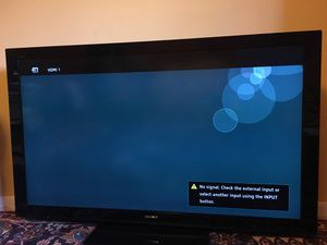 """55"""" Sony Bravia TV - great condition for Sale in West Springfield, VA"""