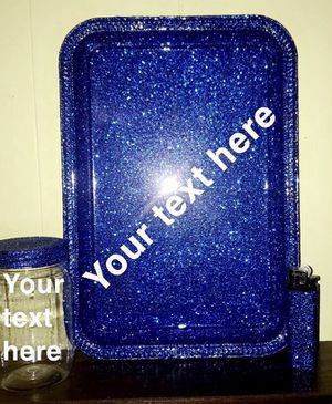 Customized glitter tray sets for Sale in Saginaw, MI