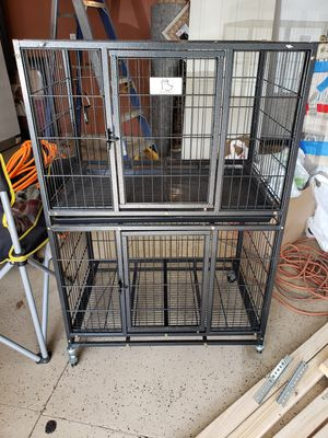 Homey pet station/dog crate for Sale in Rancho Cordova, CA
