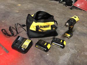 Dewalt 20v brushless drill set for Sale in Pueblo, CO