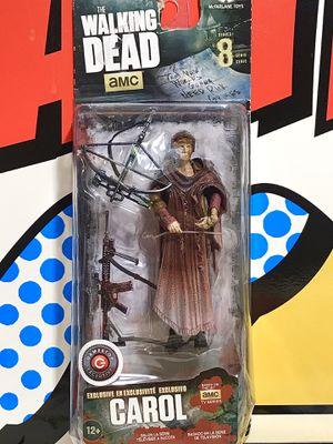 McFARLANE TOYS AMC THE WALKING DEAD SERIES 8 CAROL GAMESTOP EXCLUSIVE ACTION FIGURE for Sale in Hesperia, CA