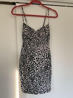 Motel leopard print body con dress Size XS for Sale in Camden, NJ