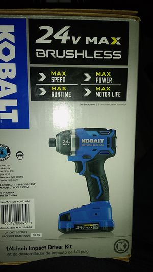 Impact drill kit for Sale in Spartanburg, SC