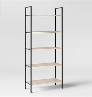 "Project 62 - 72"" Loring 5 shelf ladder bookcase - vintage oak for Sale in Lynwood, CA"