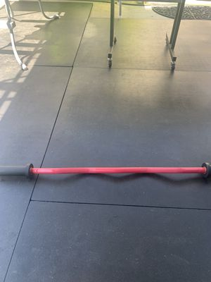 **Brand New** Olympic RED CERAKOTE Ez CURL BAR w/ Rotating Sleeves for Sale in Arcadia, CA
