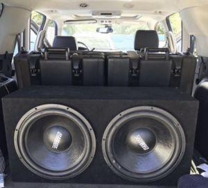 """2 15"""" Sundown Audio With Box for Sale in Stockton, CA"""