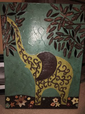 Elephant canvas for Sale in Lubbock, TX