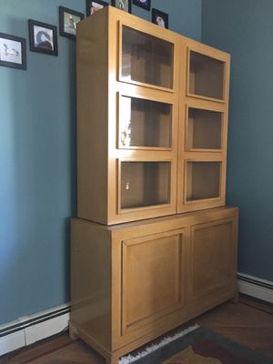Mid-century hutch for Sale in Newton, MA