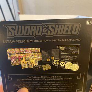 Sword and Shield Ultra Premium Collection Zacian & Zamazenta for Sale in Fremont, CA