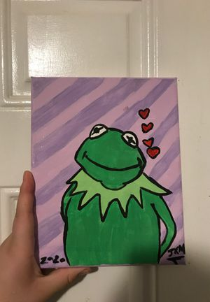 Kermit the frog painting for Sale in Durham, NC
