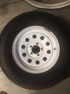 Trailer tire and rim. Spare Tire for Sale in Menifee, CA