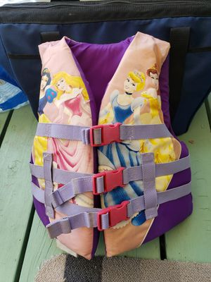 Disney Princess Life Jacket 50-90 lbs for Sale in Allen Park, MI