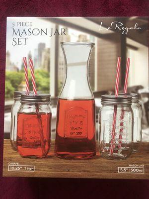 5 piece mason jar set for Sale in El Cajon, CA