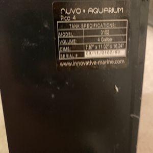 Nuvo Nano Aquarium Fish Tank for Sale in Westmont, IL