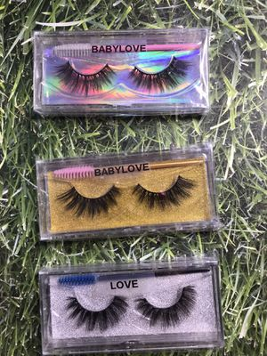 3D mink eyelashes for Sale in Victorville, CA