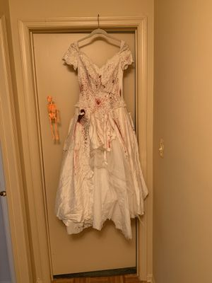 Bloody Bride Halloween Costume for Sale in Freehold Township, NJ