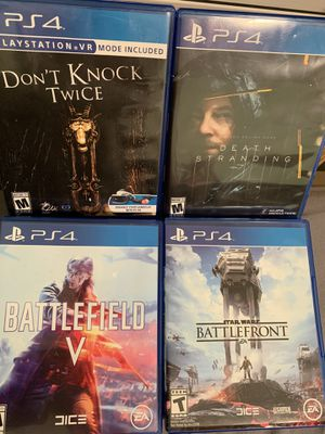 Ps4 games for Sale in Perry Hall, MD