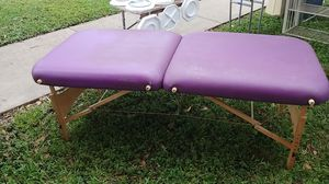 Massage table for Sale in Hollywood, FL