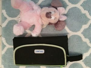 Diaper changing pad & Mini mouse toy for Sale in West Palm Beach, FL