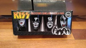 Kiss Collectable Pint Glasse for Sale in Toms River, NJ
