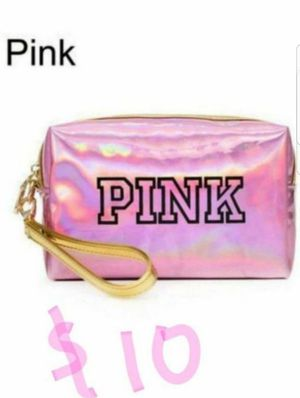CHRISTMAS STOCKING STUFFERS PINK COSMETIC POUCH for Sale in Phoenix, AZ