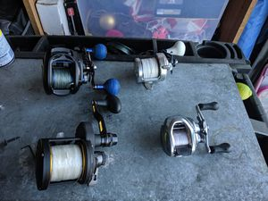 Fishing reels for Sale in Garden Grove, CA