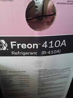 ***New in box ..Freon 410-A $80firm for Sale in Houston,  TX