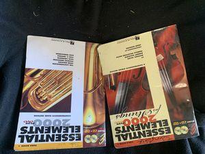 Music books & trumpet! for Sale in Wichita, KS