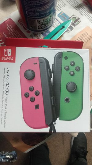 Nintendo switch joy con controllers for Sale in Grand Terrace, CA
