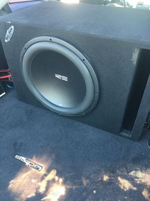 "15"" sub RE in ported ground shaker box for Sale in Bakersfield, CA"