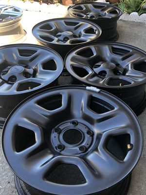 5 Jeep OEM steel rims brand new $150 for Sale in Kissimmee, FL