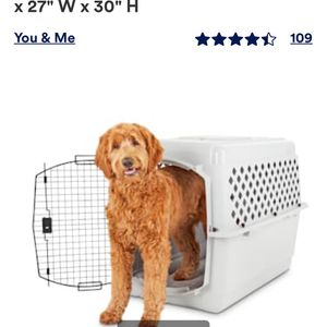Plastic Dog Crate for Sale in Bothell, WA