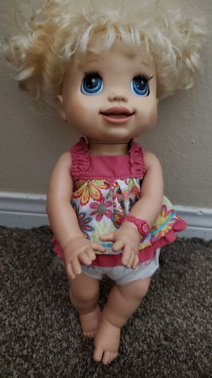 Baby Alive Interactive doll for Sale in Corona, CA