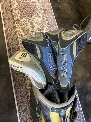 Hello hybrid club set and cart bag for Sale in Washington, DC