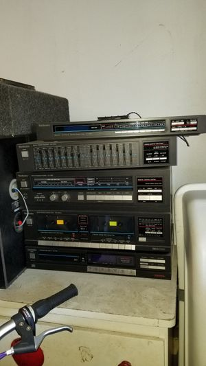 Technics stereo system for Sale in Daly City, CA