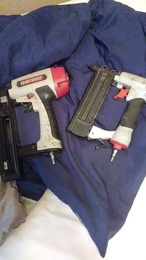 2 air to air nail guns for Sale in San Antonio, TX