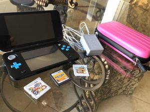 """Used """"New"""" Nintendo 2DS XL Bundle for Sale in Las Vegas, NV"""