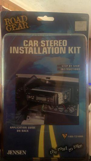 AIWA CDC-Z127 Car CD Receiver and Car Stereo Installation Kit for Sale in Dalton, GA
