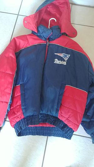 Used patriots bubble jacket for Sale in Orlando, FL