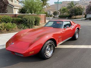 1973 Chevy corvette stingray matching number engine 4 speed manual 60k miles for Sale in Chino Hills, CA
