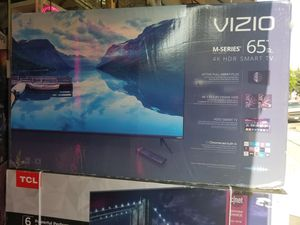 """65"""" LED SMART 4K ULTRA HDTV BY VIZIO. BRAND NEW SEALED BOX. 1 year WARRANTY for Sale in Los Angeles, CA"""