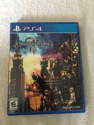 Kingdom hearts 3 for Sale in Margate, FL