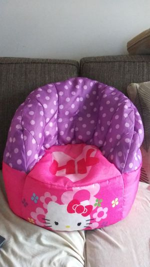Hello Kitty bean bag chair for Sale in Romulus, MI
