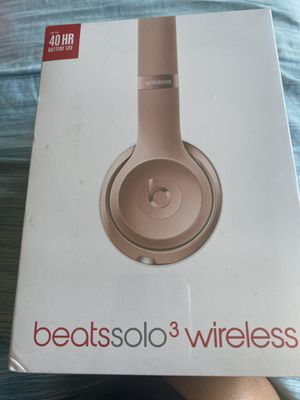 Beats solo 3 wireless UNOPENED, BRAND NEW for Sale in Los Angeles, CA