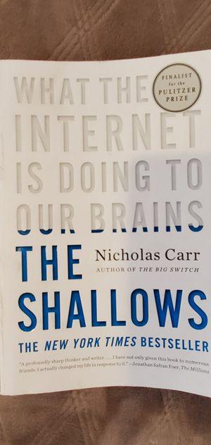 The Shallows Nicholas Carr for Sale in La Habra, CA