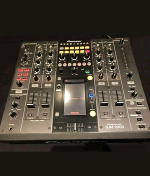 Pioneer djm 2000 + Pro X Case for Sale in Albuquerque, NM