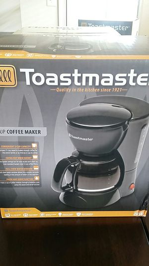 Toast Master 5 cup coffee maker for Sale in Herndon, VA