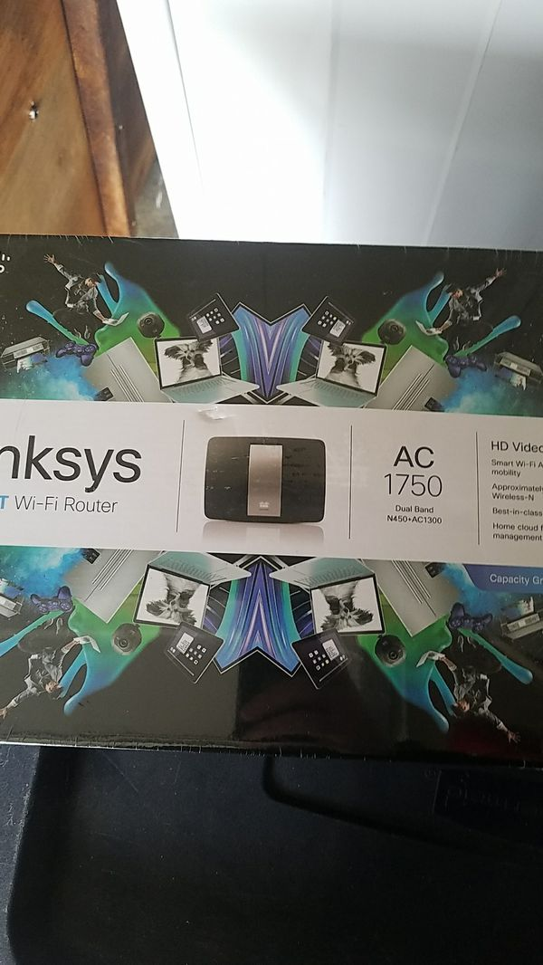 Linksys smart router wifi ac 1750 / router for home or business