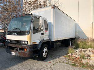 Box truck Isuzu FTR stick shift runs excellent for Sale in Alhambra, CA